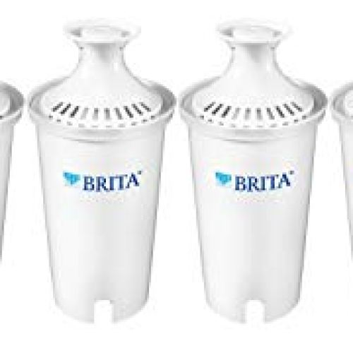 Brita Standard Water Filter, Standard Replacement Filters for Pitchers and Dispensers, BPA Free, 6 Count