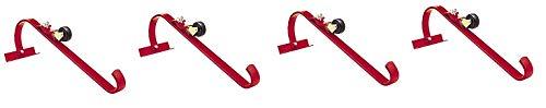 Qualcraft 2481 Ladder Hook with Wheel, One Hook (4-(Pack))