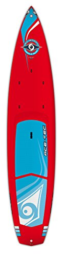 BIC Sport ACE-TEC Wing Stand Up Paddleboard, Gloss Red/White, 12'6'