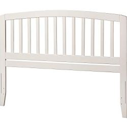 Atlantic Furniture Richmond Headboard, Queen, White,AR288842