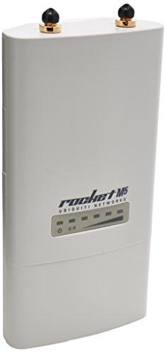 Ubiquiti ROCKETM5 5GHz Hi Power 2x2 MIMO TDMA airMAX BaseStation (ROCKETM5)