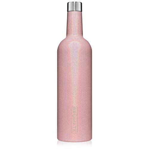 BruMate-Winesulator-25-Oz-Triple-Walled-Insulated-Wine-Canteen-Made-Of-Stainless-Steel-24-hour-Temperature-Retention-Shatterproof-Comes-With-Matching-Silicone-Funnel-Glitter-Blush