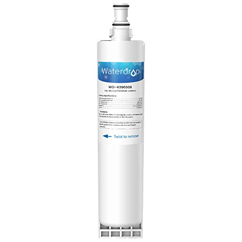 Waterdrop 4396508 Refrigerator Water Filter, Compatible with Whirlpool 4396508, 4396510, 4392857, Kenmore 46-9010, NLC240V, EveryDrop Filter 5, EDR5RXD1, PUR W10186668