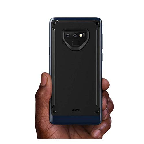 VRS Design Case for Samsung Galaxy Note 9 High Pro Shield Metal Lustre Finish Deep Sea Blue Color 4