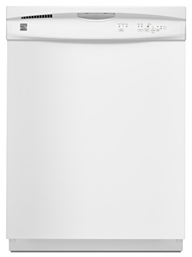 "Kenmore 13802 24"" Built-in Dishwasher in White, includes delivery and hookup (Available in select cities)"