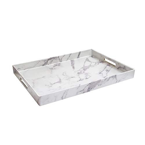 American Atelier 1270527 Marble Serving Tray, 14