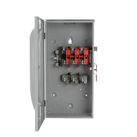 SIEMENS-GF324NR-200-Amp-3-Pole-240-Volt-4-Wire-Fused-General-Duty-Outdoor-Rated
