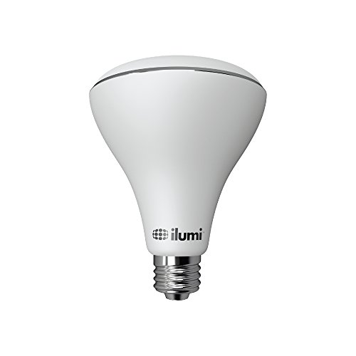 ilumi Bluetooth Smart LED BR30 Flood Light Bulb, 2nd Generation - Smartphone Controlled Dimmable Multicolored Color Changing Light - Works with iPhone, iPad, Android Phone and Tablet