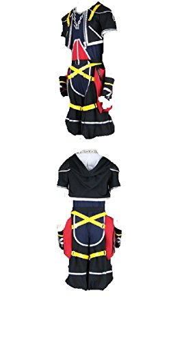 Kingdom Hearts II 2 1st Version Sora Cosplay Costume