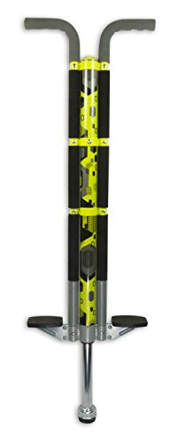 Pogo Stick For Riders 80lbs To 160lbs - Aero Legend Pogo Stick For Boys & Girls (& Light Adults) - Quality Solid ConstructionBy ThinkGizmos (Yellow & Black)