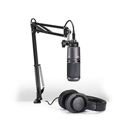 Audio-Technica-AT2020USBPK-Vocal-Microphone-Pack-for-StreamingPodcasting