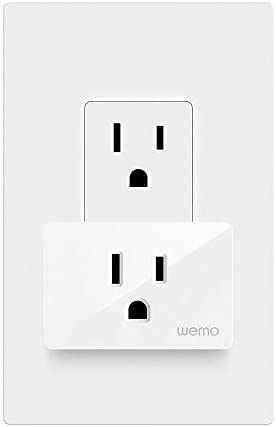 Wemo Smart Plug (Simple Setup Smart Outlet for Smart Home, Control Lights and Devices Remotely Works w/Alexa, Google Assistant, Apple HomeKit)(Pack of 1) 19
