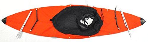 Folbot Full Spray Deck and Skirt Edisto Model Folding Kayaks, Orange