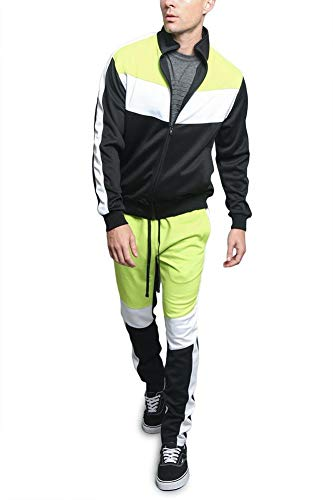 G-Style USA Men's Side Stripe Zipper Jacket Drawstring Waistband Tracksuit 5 Fashion Online Shop gifts for her gifts for him womens full figure