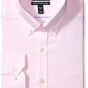 Amazon Brand - BUTTONED DOWN Men's Tailored Fit Button-Collar Solid Pinpoint Non-Iron Dress Shirt 16 Fashion Online Shop Gifts for her Gifts for him womens full figure