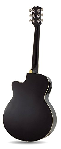 Benson-Electric-Electro-BLUE-BURST-semi-acoustic-guitar-and-15-watt-amplifier-package-inc-gig-bag-Fender-Picks