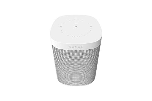 Sonos One, the powerful smart speaker with voice control built in (White)