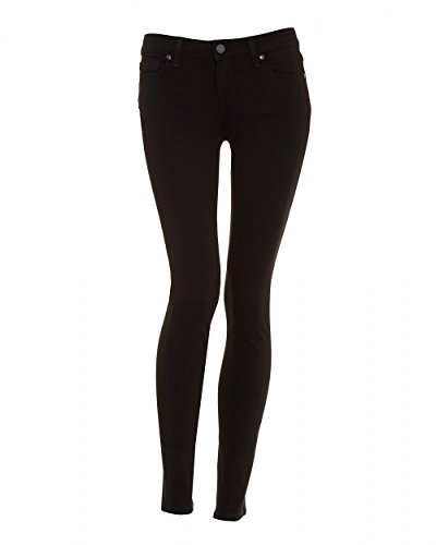 """517jQM%2BczyL Ultra-skinny black jean with destructed details featuring five-pocket styling Zip fly with button Inseam: 30"""""""