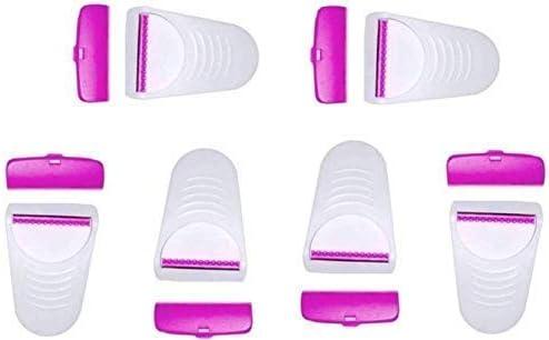 Bulling Hair Removal Manual Safety Razor for Women And Disposable Body Shaving Bikini Razor With Safety blade Use girls shaving set razor. (6 Blades Combo) 18