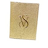 VICTORIA'S SECRET FASHION TRAVEL PU LEATHER PASSPORT COVER &ID HOLDER 5 COLORS FITS ALL PASSPORTS (GOLD)