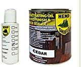 Hemp Shield Wood Finish & Deck Sealer - Cedar 1 Gallon