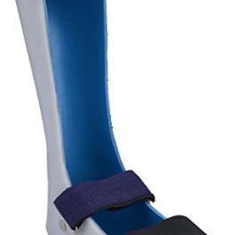 Medilink Foot Drop Splint Right leg padded (With Liner)- orthopedic ankle foot brace stabilizer (Medium)