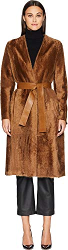 613oZGq%2BwQL Vince Apparel Womens Size Chart   Keep it cozy and elegant wearing the Vince® Belted Shearling Coat.