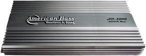 American Bass Hd3500 3500w Class D Mono Block Car Audio Amplifier Amp