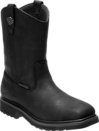 Harley-Davidson Men's Altman 10-In Waterproof Motorcycle Boots D93561 (Bk, 10.5)