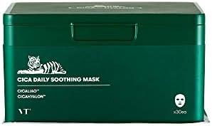 Amazon   [VT COSMETICS] Cica Daily Soothing Mask 30ea / CICAデイリースージングマスク (30枚入り) [並行輸入品]   VT COSMETICS   フェイスマスク 通販