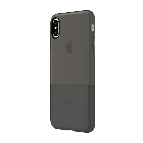 Incipio NGP Translucent Case for iPhone iPhone Xs Max (6.5') with Flexible Shock-Absorbing Drop-Protection - Black