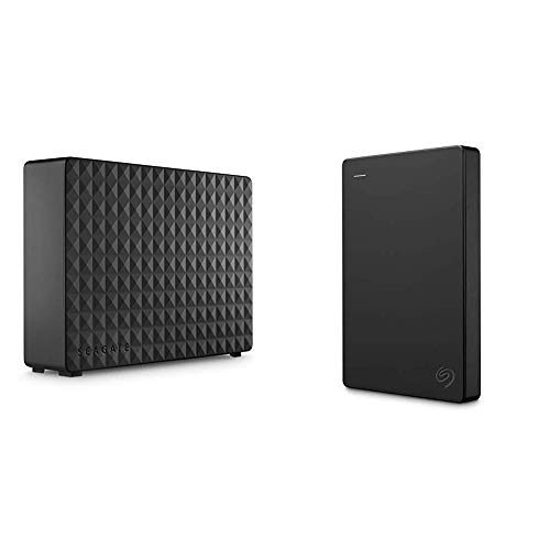 Seagate-Expansion-Desktop-10TB-External-Hard-Drive-HDD-USB-30-for-PC-Laptop-STEB10000400-Bundle-with-Seagate-Portable-1TB-External-Hard-Drive-HDD--USB-30-for-PC-Laptop-and-Mac-STGX1000400
