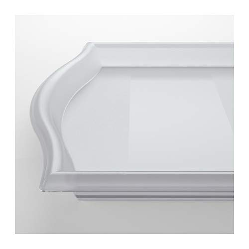 IKEA SMULA Tray- [FAMILY PACK of 4] TV Tray, Lap Tray, Patio, Breakfast in Bed - Translucent Polypropylene
