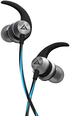 Boult Audio BassBuds X1 Driver in-Ear Wired Earphones with 10mm Extra Bass Driver and HD Sound with mic(Blue)