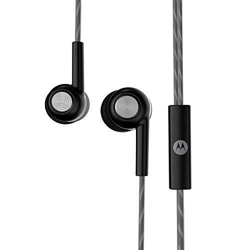 Motorola Pace 110 in-Ear Headphones with Mic, Extra Bass & Alexa Built-in(Black) 6