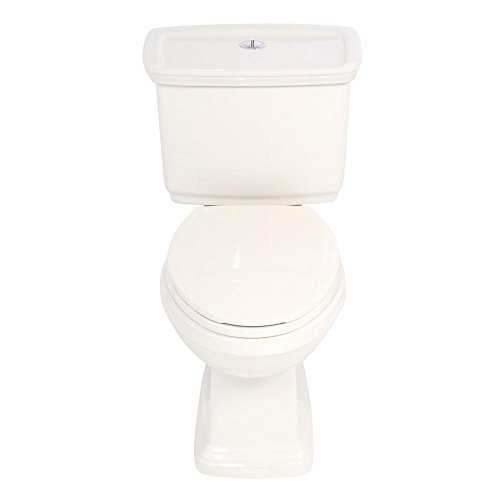 2-piece 1.0 GPF/1.28 GPF Elongated Toilet in Biscuit