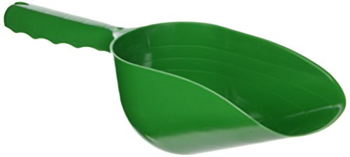 SE GP3-SS21 Green Plastic Hand Trowel/Scoop with 2 Cup Capacity