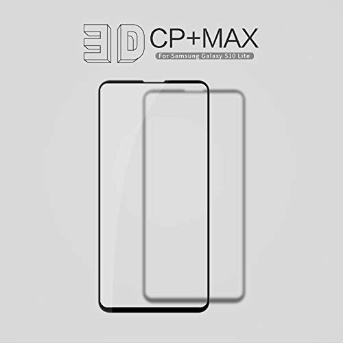 """31nBW5JA2sL - Nillkin Tempered Glass for Samsung Galaxy S10e S 10e (5.8"""" Inch) 3D CP+ Max Glass 0.1mm Thin Edge Shaterproof Full Screen Coverage Explosion Proof Screen Protect Black Color"""