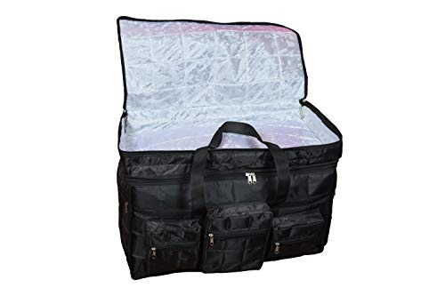 31nMeMNE  L - Home Store India Fabric 14 Inches Soft Travel Duffle (Home Store India_Black)