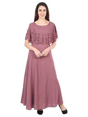 IQRA FASHION Women's Maxi Dress
