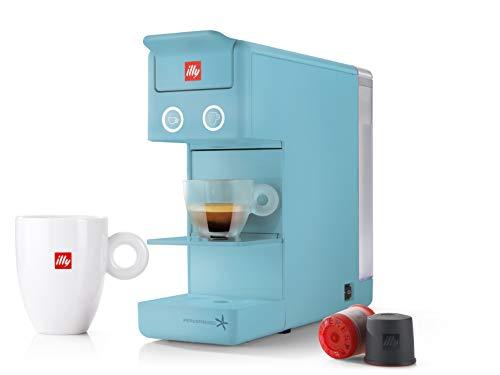 illy 60298 y3.2 Espresso and Coffee Machine, 12.20x3.9x10.40, Red