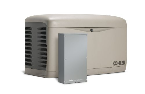 Kohler 20RESCL-200SELS Air-Cooled Standby Generator with 200 Amp Transfer Switch Single Phase, 20,000-Watt