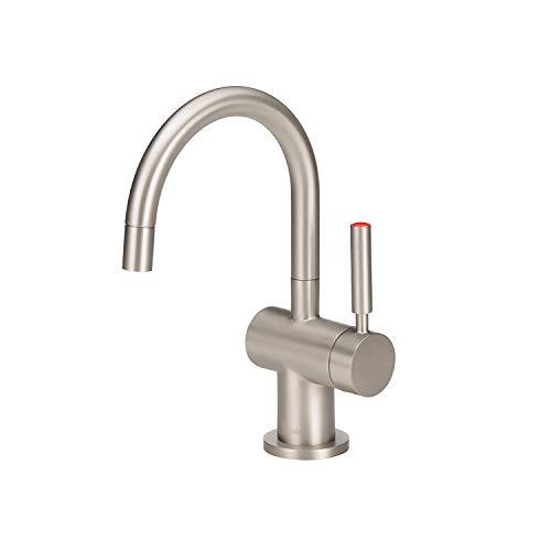 InSinkErator F-H3300SN Modern Instant Hot Water Dispenser, Satin Nickel