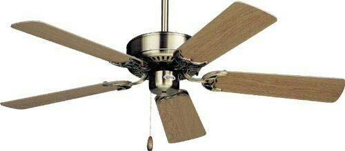Emerson Northwind 42' ceiling fan Polished Brass Snugger Mod CF704SPB JDA-15A01