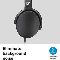 Sennheiser HD 400S Kafa Üstü Siyah Kulaklık 16