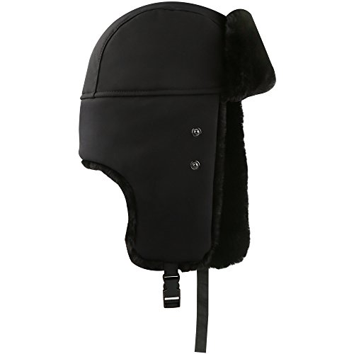 Winter Hat with Ear Flaps - AKASO Trooper Trapper Hat aa3db26210b