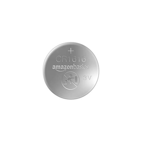 AmazonBasics CR1616 Lithium Coin Cell - Pack of 2