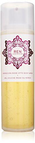 Ren Moroccan Rose Otto Body Wash, 6.8 Fluid Ounce