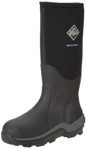 Muck Arctic Sport Rubber High Performance Men's Winter Boots, Black, 10M US