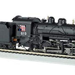 Bachmann Trains Baldwin 2-8-0 Dcc Equipped Steam Locomotive Union Pacific #619 – HO Scale, Prototypical Black 31ogKLl6c8L